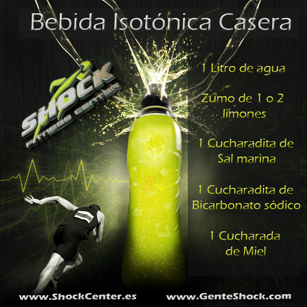 Bebida-isotónica Shock Center