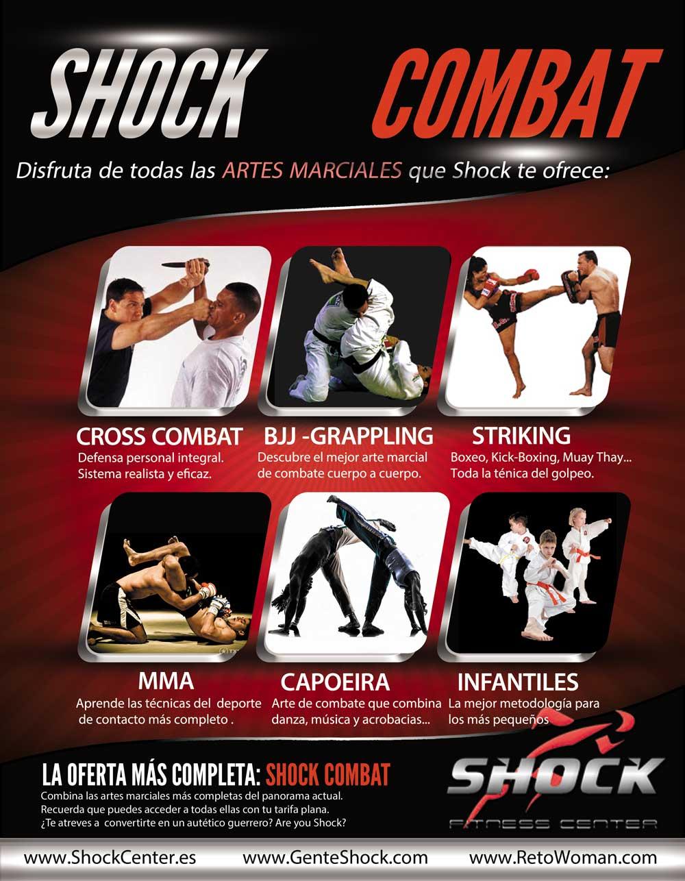 SHOCK COMBAT ARTES MARCIALES