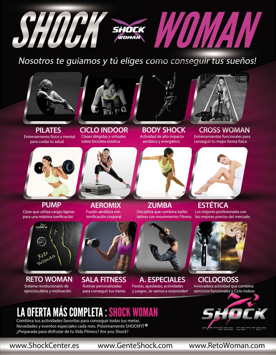 Shock-Woman Gimnasios Badajoz